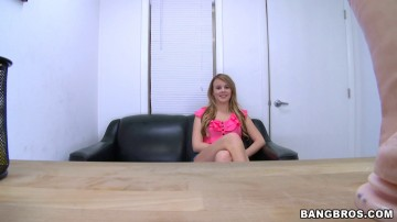 Alexis Adams - New girl stops by to see if she wants to do porn, ends up with a facial