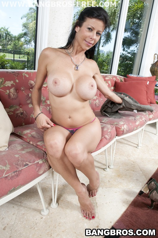Bangbros 'MILF With Extra Vision' starring Alexis Fawx (photo 182)