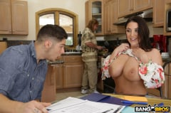 Angela White - Big Tits Under the Table (Thumb 12)