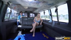 Bailey Brooke - Reverse Bus With A Big Booty Blonde (Thumb 36)