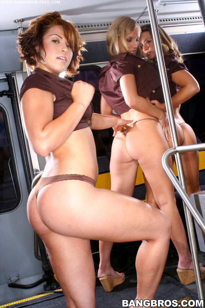 Bangbros 'Ass and Titties On The BangBros Party Bus!' starring Brianna Beach (photo 400)