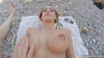 Erica Fontes - At the Beach for That Pussy