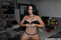 Holly West - Petite Brunette Holly West, Her Natural Tits and Great Ass (Thumb 54)