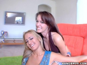 Jenna Presley - Two big ass girls lesbo out on each other before devouring dick