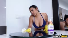 Julz Gotti - Juicy Thick Latina Cleaned My House and Cock (Thumb 224)