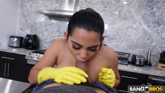 Julz Gotti - Juicy Thick Latina Cleaned My House and Cock (Thumb 392)
