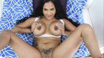 Kimberly Kendall - Kimberly Kendall takes a huge load in the ass!