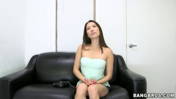 Lily - Asian Girl Gets Her Pussy Pounded and A Face Full Of Cum For Hire!