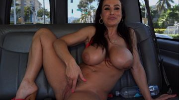 Lisa Ann - Lisa Ann is a horny MILF on the BangBus