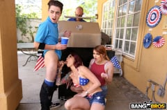 Monique Alexander - Awesome 4th Of July Threesome (Thumb 108)