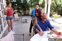 Monique Alexander - Awesome 4th Of July Threesome (Thumb 162)