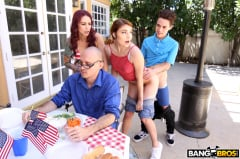 Monique Alexander - Awesome 4th Of July Threesome (Thumb 180)