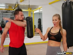 Nicole Aniston - Creampie During A Hard Work Out (Thumb 104)