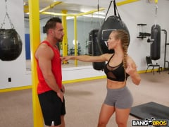 Nicole Aniston - Creampie During A Hard Work Out (Thumb 130)