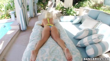 Nikki Delano - He plays with her butt a lot