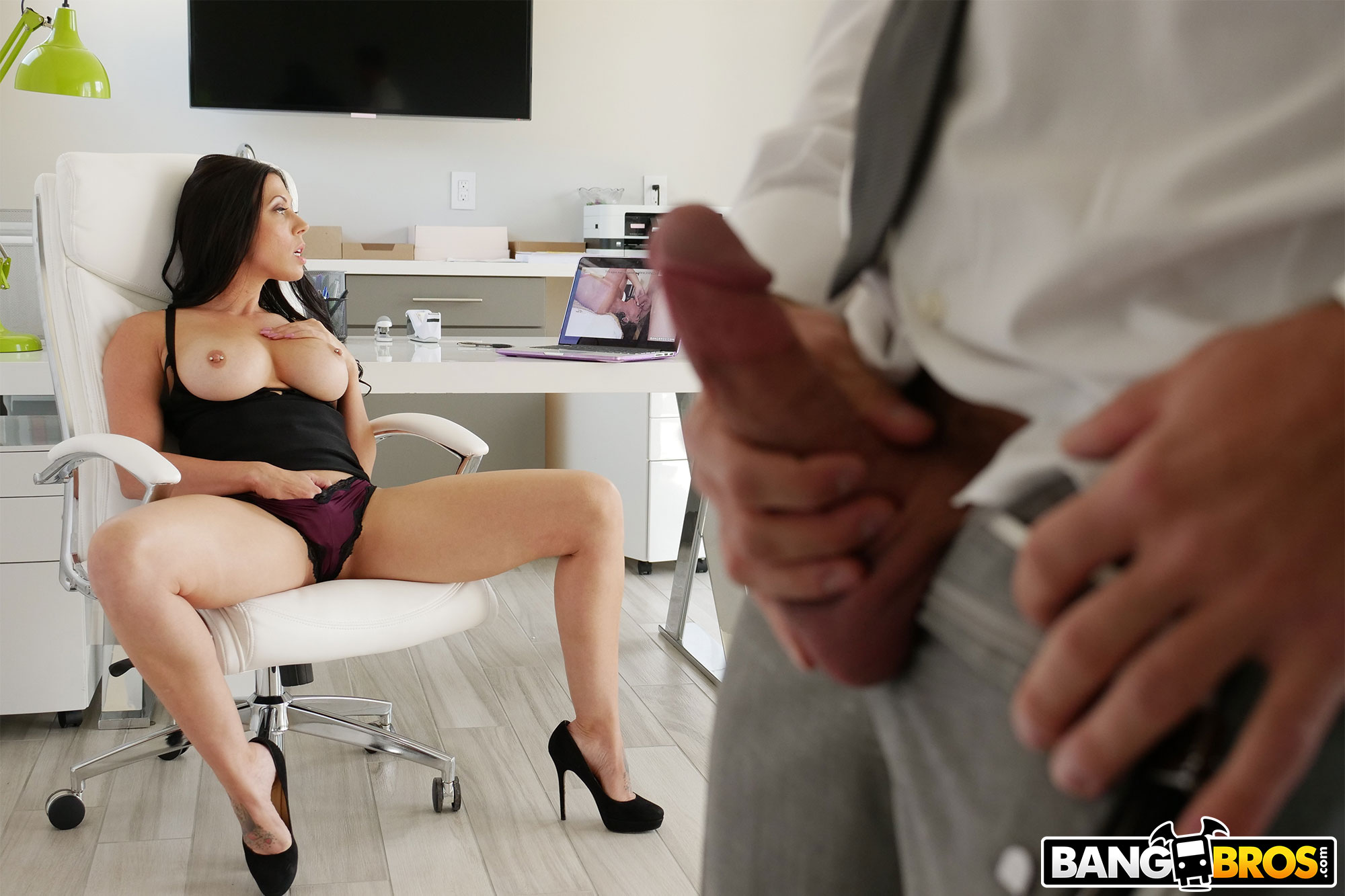 Bangbros 'Rachel Starr Gets Railed by Her Boss' starring Rachel Starr (photo 115)