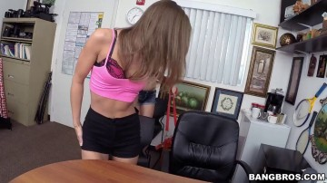 Shortie Breeze - Rowdy Threesome At The Office