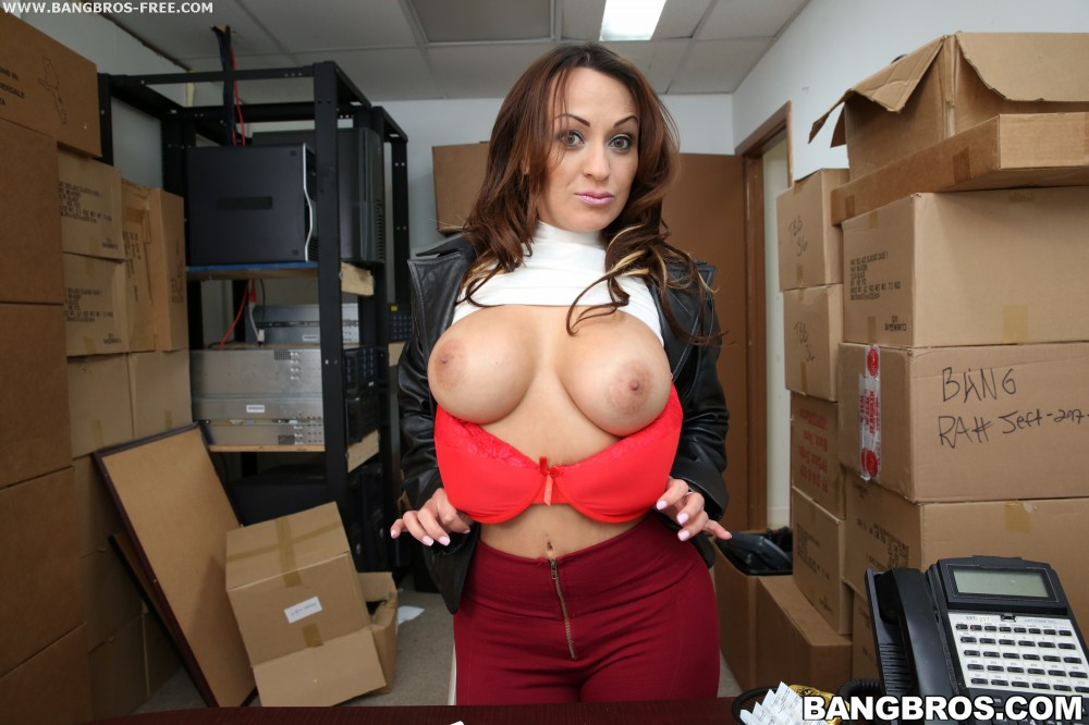 Bangbros 'Hardcore Sex In The Back Room!' starring Vanessa Luna (photo 6)