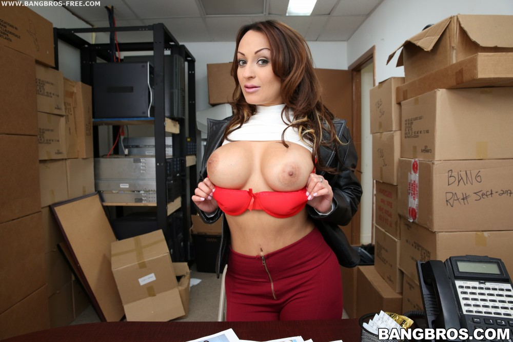 Bangbros 'Hardcore Sex In The Back Room!' starring Vanessa Luna (photo 9)