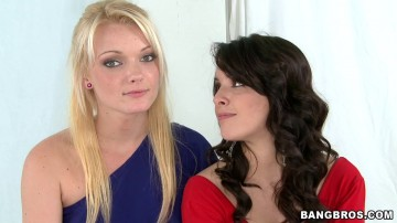 Zoey Paige - Two girls come in to get their mouths filled with cum