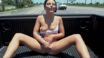 Adriana Chechik in 'Adriana Squirts From Anal in Public'