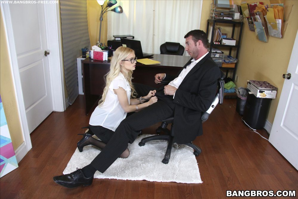 Sexy Secretary Pays For Her Mistakes Bangbros