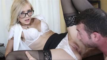 Alex Grey - Sexy Secretary pays for her mistakes!