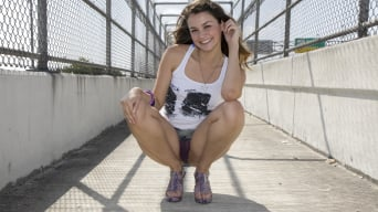 Allie Haze in 'Feet Fucking Time!'