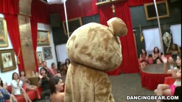 Amateurs - Crashing the club! Dancing Bear Style!