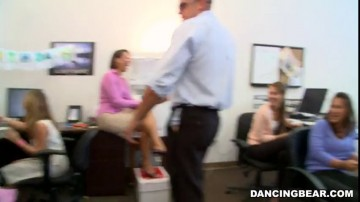 Amateurs - Office Party Cock Blowout