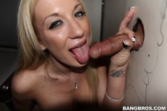 Amy Brooke - Amy Brooke Sucks Dick And Gets Fucked In A GloryHole Closet (Thumb 120)