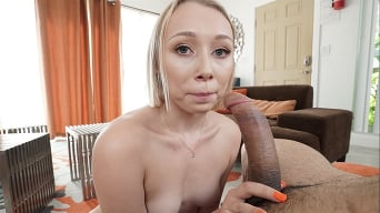 Athena May in 'Hot Blowjob From Blonde With Braces'