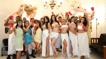 Aubrey Addams in 'Pornstar toga party orgy'