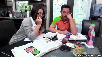 Ava Addams - StepDaughter And StepMom TagTeams BF