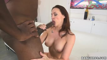 Chanel Preston in 'Mandingo going deep in that ass!'