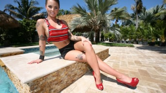 Christy Mack in 'Creampie For the Emo Girl'