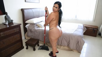 Destiny in 'Big ass Cuban maid gets fucked'