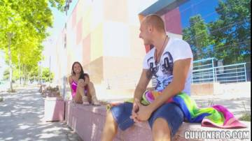 Galilea - Latina Babe With Big Ass And Tits Gets Fucked On The Streets
