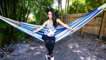 Jasmine Caro in 'Big tit Latina wants cum in her pussy'