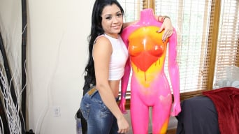 Jessica Fuentes in 'Big ass Latina found and fucked'