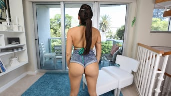 Julianna Vega in 'Big piece of ass knows how to take dick'