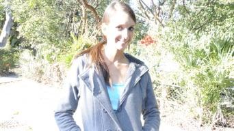 Katie Jordin in 'Deep-Throat The Mojito Stick'