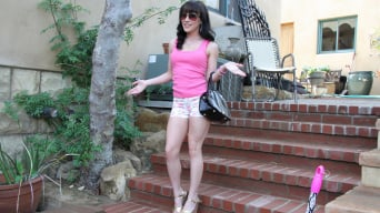 Katie St. Ives in 'Big butt brunette swallows some cum'