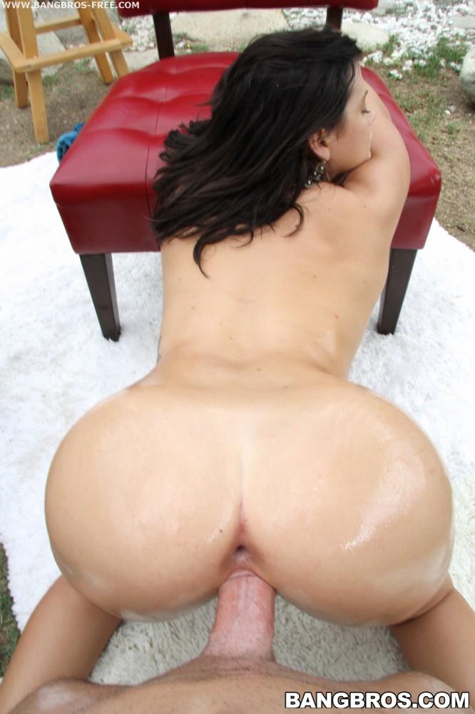 Huge latina ass gets pounded