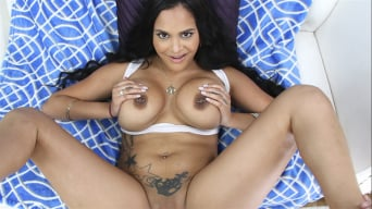 Kimberly Kendall in 'takes a huge load in the ass!'