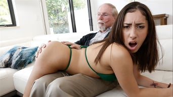 Kira Perez in 'Kira Gets Pounded By Grandpa'