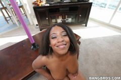 Layla Monroe - Beautiful Big Ebony Ass! (Thumb 360)