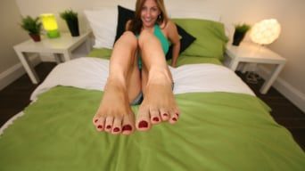 Lisa in 'Magical Foot Job with Lisa'
