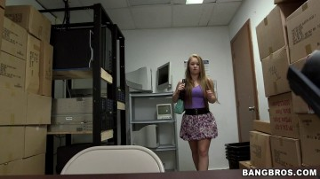 Madison Chandler - Office Sex With A Hot Amateur blonde!