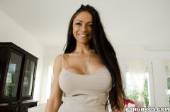 Marta La Croft - Latina With Big Tits Gets A Cream-Pie (Thumb 10)